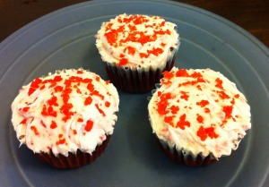 Pop Rock cupcakes