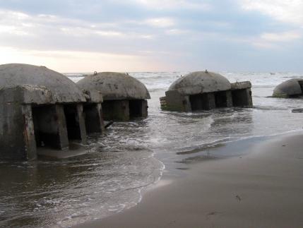 Bunkers, Seman Beach, Albania